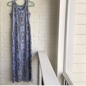 J McLaughlin long maxi style summer dress XS